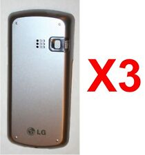LOT OF 3 LG Banter AX265 UX265 Replacement Battery Door cover