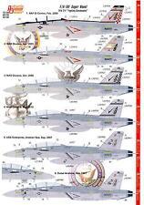 Authentic Decals 1/48 MCDONNELL DOUGLAS F/A-18F SUPER HORNET VFA-211