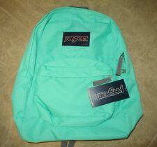 Brand NEW JanSport SuperBreak Seafoam Green Unisex Backpack Authentic
