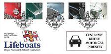 GB 1996 automobili, r.n.l.i. UFFICIALE FDC