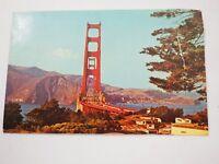 Vintage Postcard - The Golden Gate Bridge, San Francisco. 1970s - 1980s