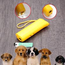 Dog Anti Bark Device Control Trainer Repeller Stop Barking Train Ultrasonic LED