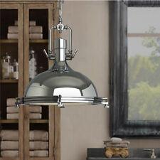 Industrial Chandelier Lighting Glass Pendant Light Kitchen Sliver Ceiling Lights