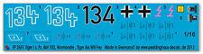 Peddinghaus 2651 1/16 Tiger I 1. comp. S. pz. ABT 102 NORMANDIA, ASS volere