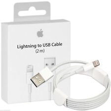 2M Apple Genuine Lightning to USB Cable for iPad Air Mini 4 iphone 8 7 6 Plus 5