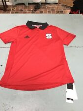 NC State, Wolfpack, Adidas, Polo shirt, Adult, Women's Medium