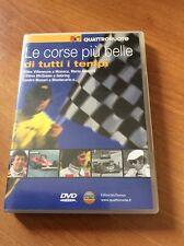 LE CORSE PIU BELLE DI TUTTI I TEMPI   QUATTRORUOTE  DVD RARO
