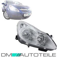 Opel Corsa D 06-11 Halogen Scheinwerfer H7/H1 Rechts 8-Pin Valeo Chrom Klarglas