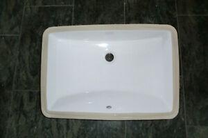 Unterbau Waschbecken / Waschtisch weiß lichtes Innenmaß 52,5 x 34,5 x 17cm