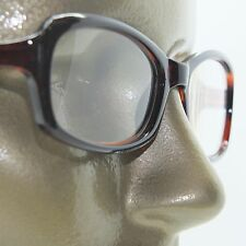 Reading Glasses Edgy Twisted Rope Side Chunky Brown Frame Readers +2.50 strength