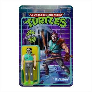 Super7 - Teenage Mutant Ninja Turtles ReAction Figure Wave 3 - Casey Jones
