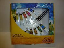 Winsor & Newton Galeria Acrylic Complete Painting Set Art W&N