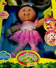 Cabbage Patch - Kids Adoptimals Doll Dark Brown Skin, Eyes  Curly Hair Adoptimal