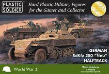"""15MM GERMAN SDFKZ 250 """" NEU"""" HALFTRACK - PLASTIC SOLDIER COMPANY - WW2"""