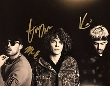CHEAT CODES HAND SIGNED 8x10 PHOTO SINGER DJ MUSIC GROUP HOT RARE AUTHENTIC!!