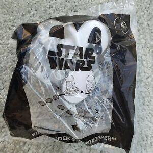 McDonald's Star Wars 2021 Happy Meal Toy Disc Launcher Lot of 4 #3 #4 #7 #8 NIP