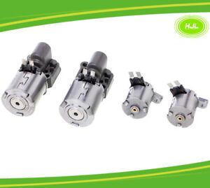 DQ500 DL501 0B5 Transmission Solenoids 4 PCS Set N440 N436 N471 N472 For Audi