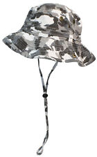 Tropic Hats Summer Floppy/Bucket Cap W/Snap Up Sides #906 City Camo Extra Large