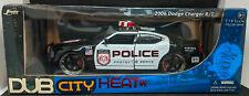 JADA Toys DUB CITY HEAT 2006 DODGE Hemi Charger R/T 1:18 POLICE CAR #054