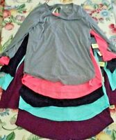 NWT Xersion Relaxed Fit Open Back 3/4 Sleeve Shirt