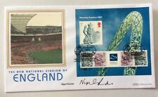 17.5.2007 Wembley Stadium M/S-Signed NIGEL PEARSON-football Player-Benham FDC.