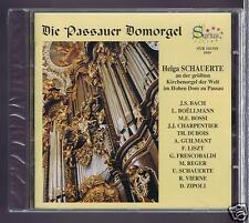HELGA SCHAUERTE CD NEW WORLD'S LARGEST CHURCH ORGAN / BACH/ LISZT/ REGER/ VIERNE