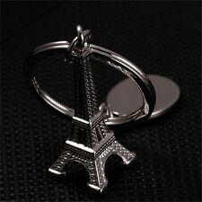 Zinc Alloy Eiffel Tower French Souvenir Paris Keychain Keyring  Chain Ring GE