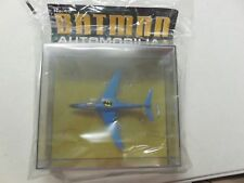 DC 1/43 BATMOBILE ~ EAGLEMOSS  Automobilia  #45 ~ BATPLANE II 2 ~ Batman Jet