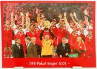 FC Bayern München + DFB Pokal Sieger 2005 + Fan Big Card Edition F131 +