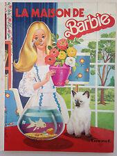 LA MAISON DE BARBIE // ED. TOURET 1977