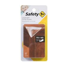 Safety 1st, 4 Pack, Clearly Soft Corner Guards, Rounded