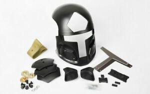 Tactical Maritime Fast Helmet Spartan Mask Black Lens Ear protector Hunting