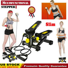 Mini Stepper Exercise Machine Aerobic Fitness Step Air Stair Climber Workout Kit