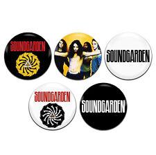 5x Soundgarden Band Alternative Rock Grunge 25mm / 1 Inch D Pin Button Badges