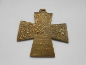 wandering bishops medal early christian medal with eastern city & battle scene