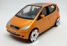 Realtoy MB Mercedes Benz A-CLASS Orange 1:56 Scale 66mm Big Wheels Diecast Car