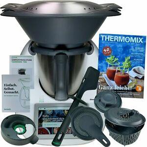 Vorwerk Thermomix TM6 *AUSSTELLER* COOKIDOO® Kochbuch NEU OVP TM 6 WLAN TOP #200
