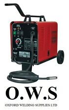 Sealey mightymig150 150amp gas / no gas Mighty MIG Welder + flusso FILO + PUNTA