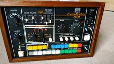 Roland CR-78 CompuRhythm Drum Machine Rare Vintage Analogue 1978 With Footswitch