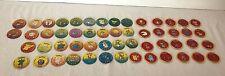 Pokemon Battle Tomy Figure Coins Lot of 54 Chips Discs Tokens Vintage Zapdos