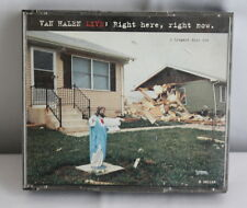 Live Right Here Right Now by Van Halen 2 CD,1993, Warner Bros