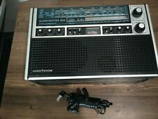 NordMende Am/Lw/Fm/Sw 6band Receiver, Model No. Globetrotter 808, Works.