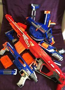 Large Bundle  NERF MEGA CENTURION BLASTER GUN SNIPER RIFLE Toy N STRIKE ELITE