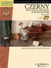 Czerny Practical Method For Beginners Op.599 Learn to Play Piano Music Book