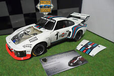 PORSCHE  935 TURBO Martini WORLD CHAMPION 1976 6H DIJON ICKX au 1/18 EXOTO 18104