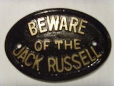 Attenzione Jack Russell House segno PLACCA GARAGE