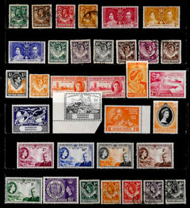 NORTHERN RHODESIA, BRITISH: CLASSIC ERA - 1950'S STAMP COLLECTION WITH SETS