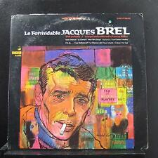 Jacques Brel Le - Formidable Jacques Brel LP VG+ VSD-79265 1967 Vinyl Record
