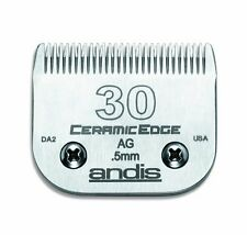 Andis 64260 # 30 CeramicEdge Carbon-Infused Steel Finish Cut Clipper Blade