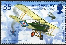 RAF (Royal Aircraft Factory) S.E.5 / SE5A WWI Biplane Fighter Aircraft Stamp
